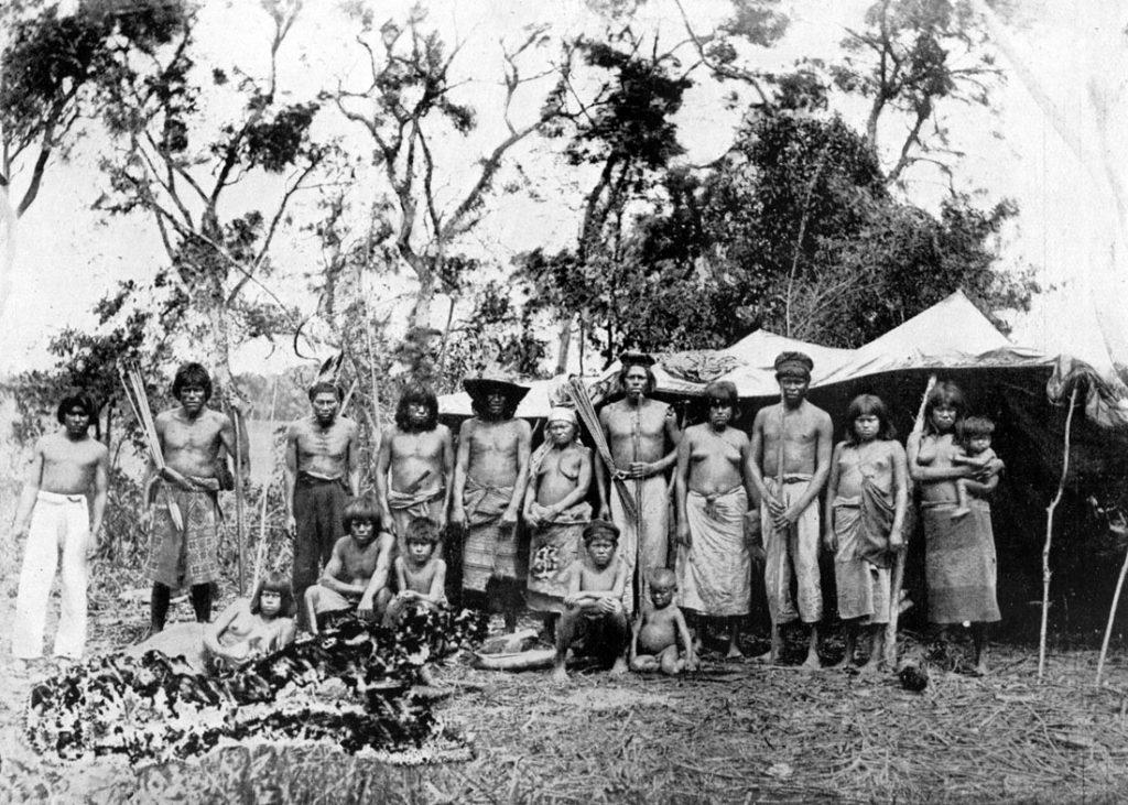 Indígenas en el Paraguay