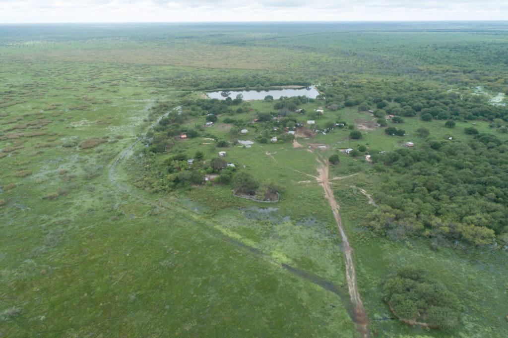 Inundaciones en el Bajo Chaco. Imágenes de FOTOCICLO