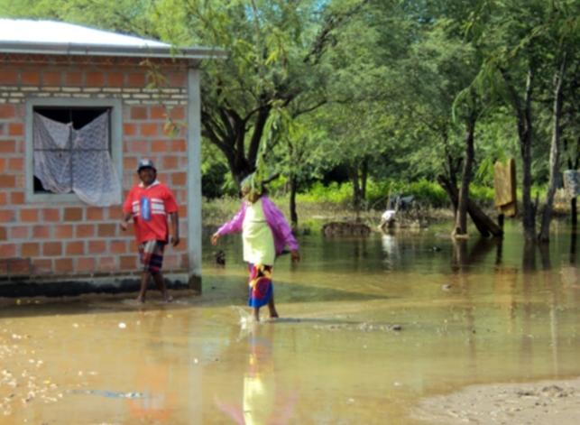 Inundación en el Bajo Chaco
