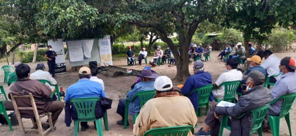 Líderes indígenas se reúnen en Presidente Hayes