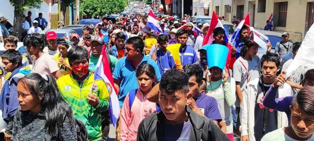Pueblos Indígenas de Paraguay emplazan al Estado para que atienda sus demandas